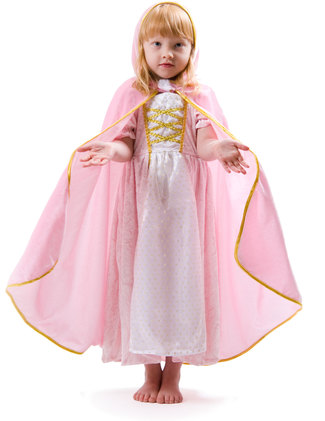 Rosa prinsessmantel