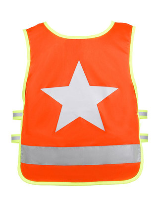 Orange One Star Back