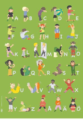 Alfabetsaffisch