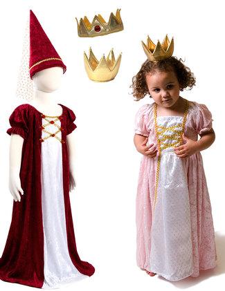 Djungfru, princessa och kronor