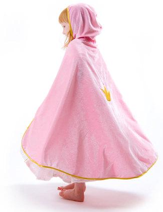 Rosa mantel sammet