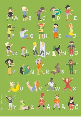 ABC-affisch 50x70