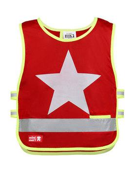 Reflexväst Röd One Star