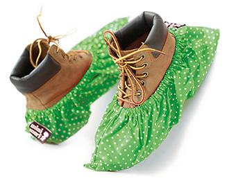 Gröna skoskydd