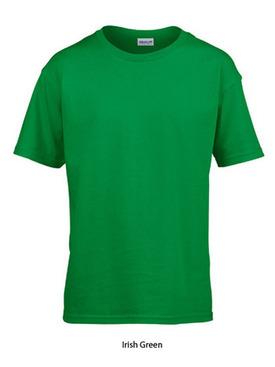 T-shirt barn Grön