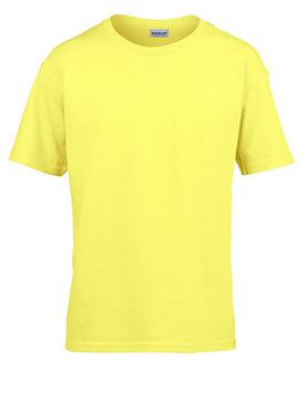 T-shirt barn Gul