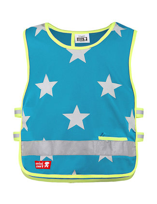 Turquoise Stars Front